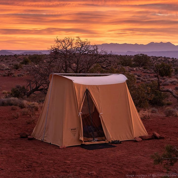 #1 Zion GLAMPING TO GO Tent & Gear-Free Campsite