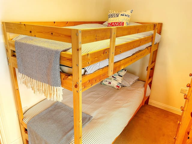 Bedroom 3 - Full size bunk beds