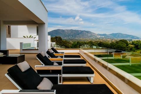 Νέα πολυτέλεια 3BR μεγάλη βεράντα μπάρμπεκιου - La Cala Golf