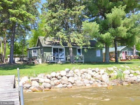 Northern Minnesota Fish & Fun Cabin Lake Getaway