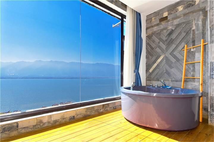 海景星空轻奢套房·半山海景·俯瞰苍山洱海·天空之镜·泳池·免费接/送站