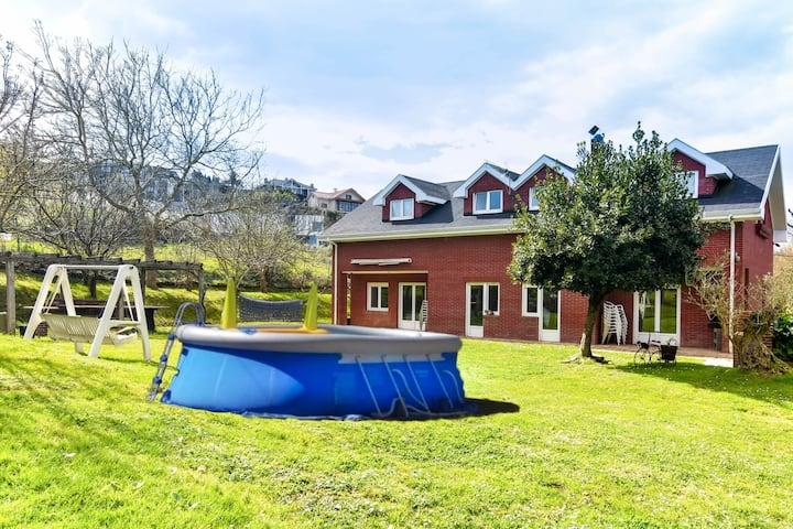 Villa Tanit - Casa para grupos amplios con jardín