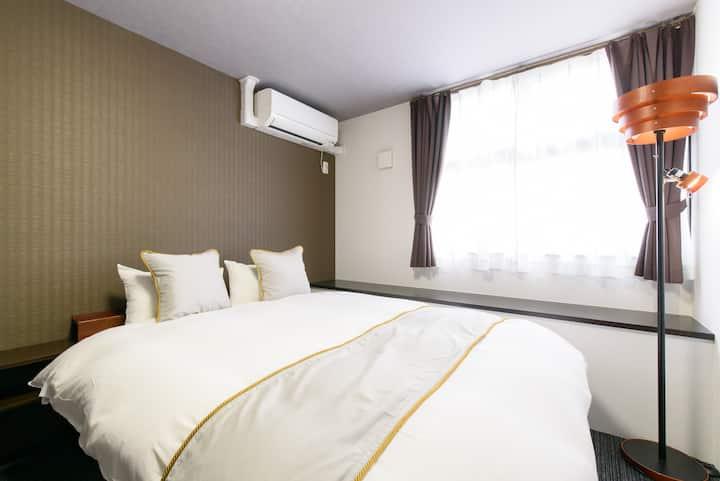 [JP INN Gakurin] Spacious room 10min from Kyoto st