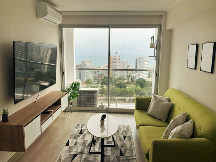 Ocean-view Cozy Equipped Apartment by SweetHome