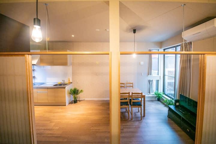 101ライフハウス 玉造 新築 デザイナーズ 床暖 贅沢な空間