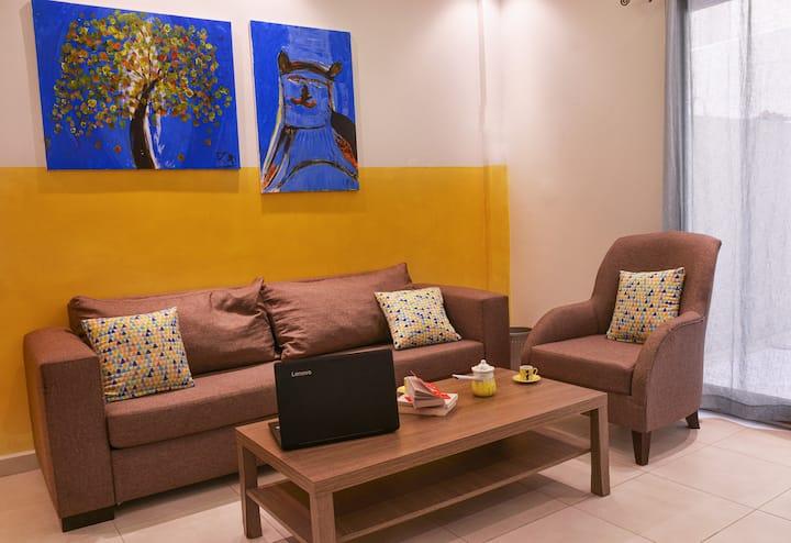 1 Bedroom Apt w/Terrace in the heart of MarMikhael