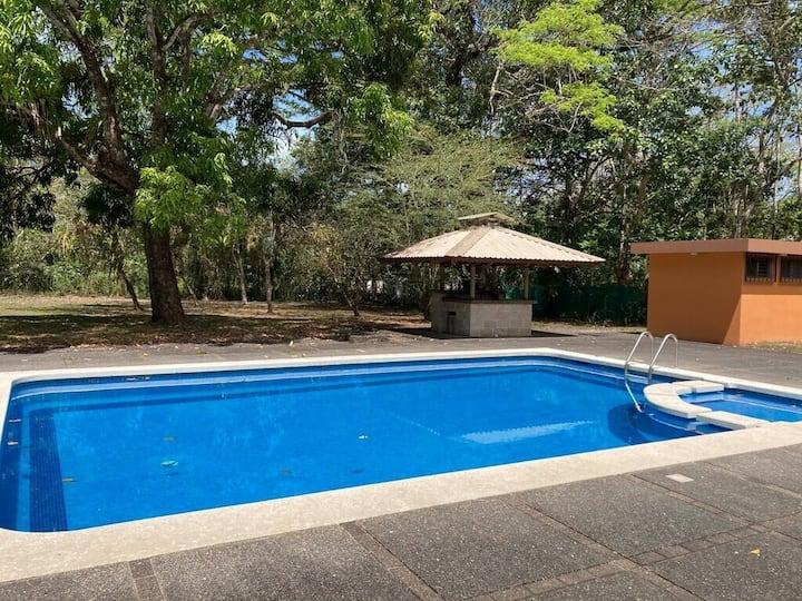 BeachHouse, delicious pool, wild macaws & iguanas!