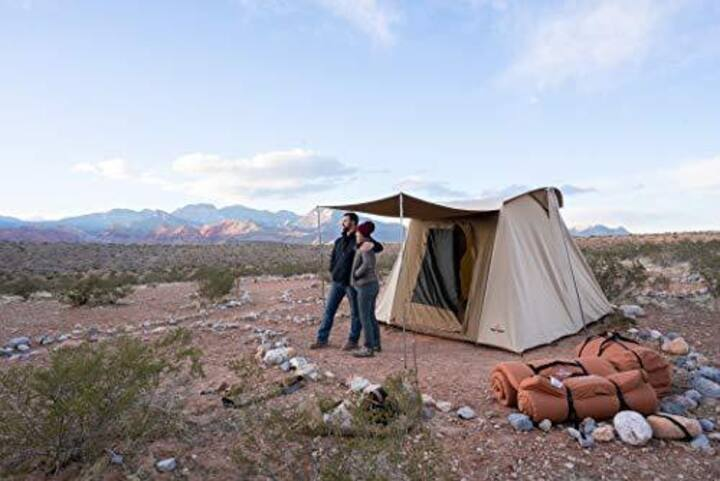 #6 Zion GLAMPING TO GO Tent & Gear-Free Campsite