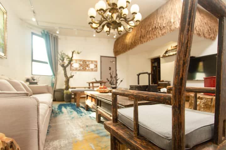 【璞园】悠然三室一厅套房带百平空中花园