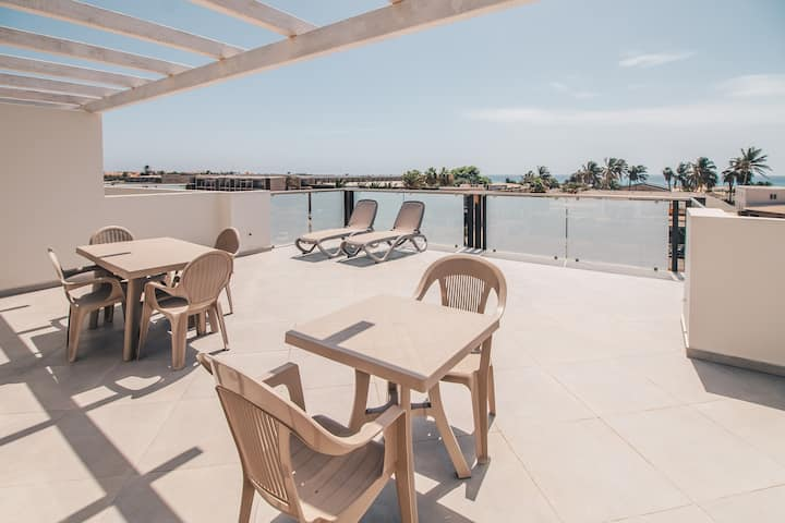 CABO VERDE HALOS APARTMENTS - penthouse sea view