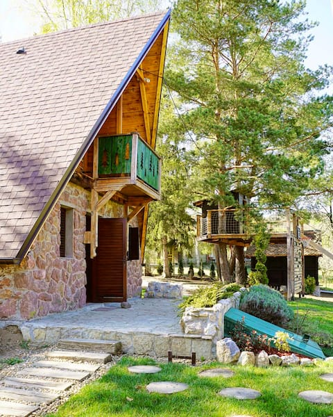 Rustic cottage JARILO, an oasis of peace in nature