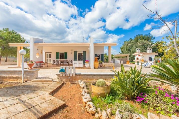 Villa Adriatica a 2 km mare - Recintata - Giochi