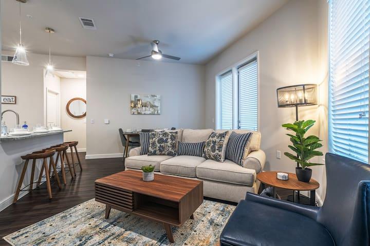 Modern, clean apartment