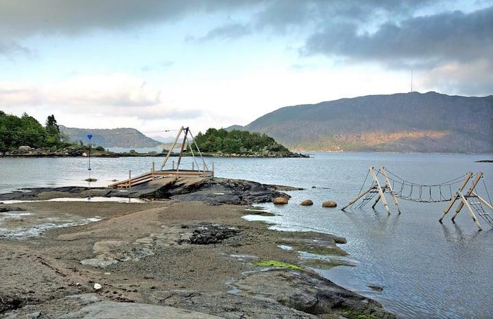 Wonderful place near the beach on fjord  townnear