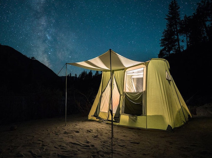 #3 Zion GLAMPING TO GO Tent & Gear-Free Campsite