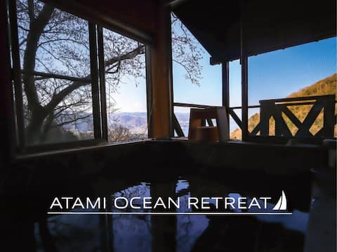 NUEVO:Ocean View∙Hot Springs/Atami/relaxing/2LDK/80⁰
