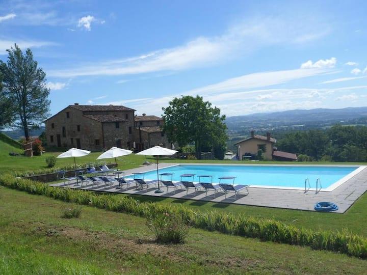 Villa Lugnano, villa con piscina adatta a famiglie