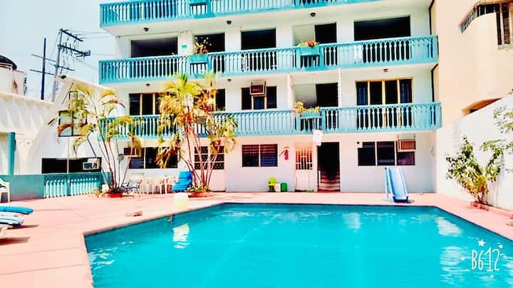 Suites Acapulco Real a 5 minutos de Zona Dorada