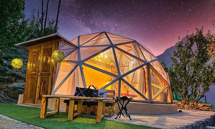A Cozy Dome & Attic in Parvati Valley | Itsy Bitsy