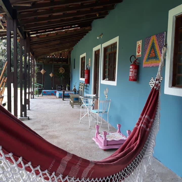 Hostel vila café - Ambiente rústico e familiar