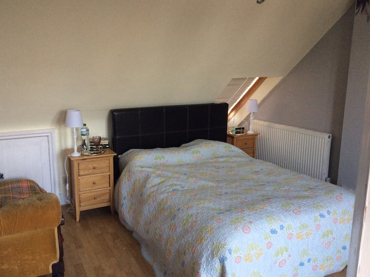 Upper Norwood ensuite attic room & own kitchenette