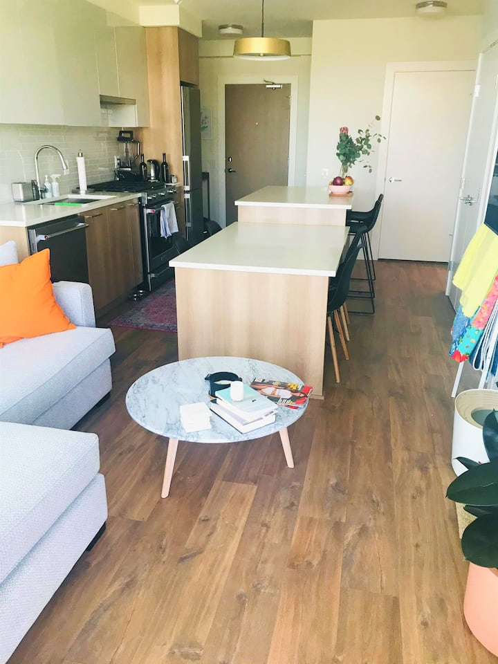 Brand new one-bedroom in New Westminster