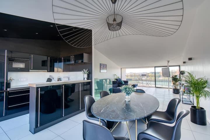 Duplex de haut standing, vue MER et Terrasses