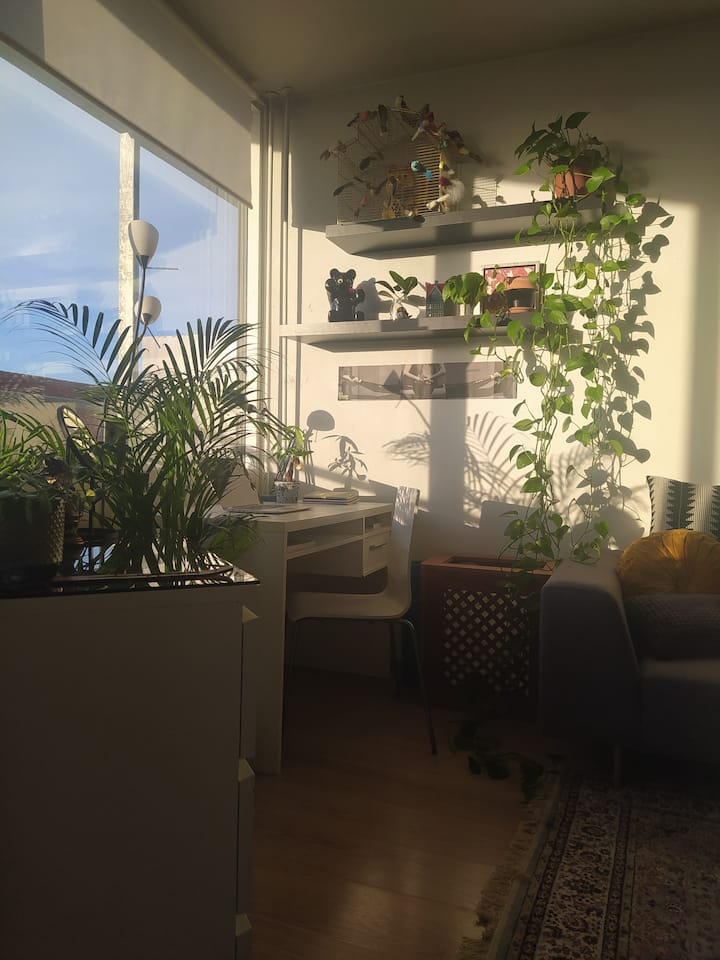 Sunny apartment with a balcony in Nørrebro
