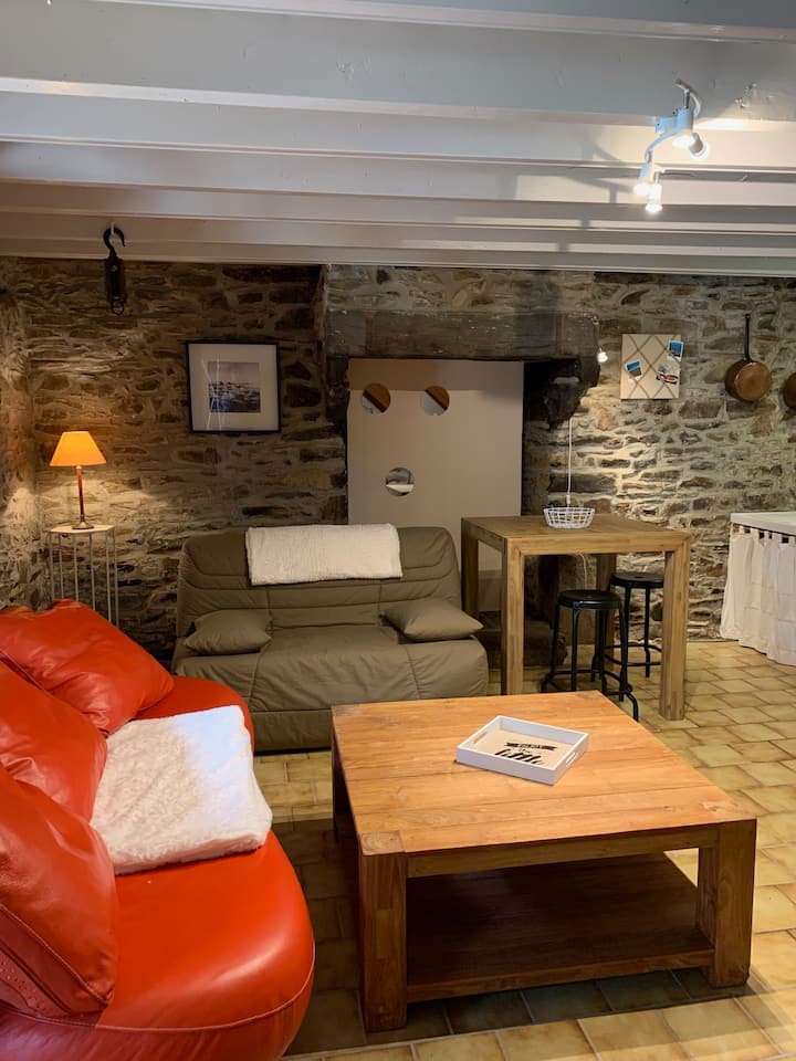 Charmante petite maison bretonne en campagne