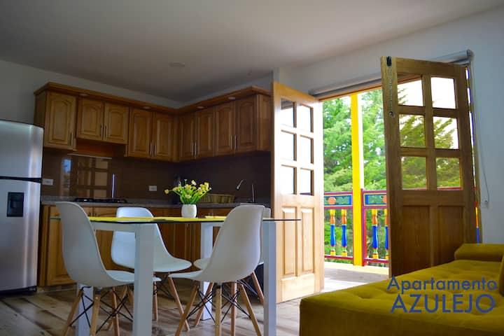 Apartamento Azulejo en Roble Colonial
