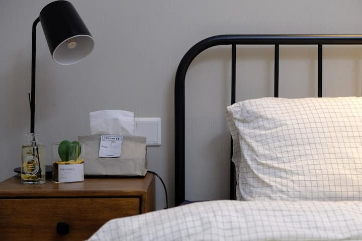 [Chestnut's Home~栗子家][栗子]/万达公寓/北欧/温度/舒适大床/
