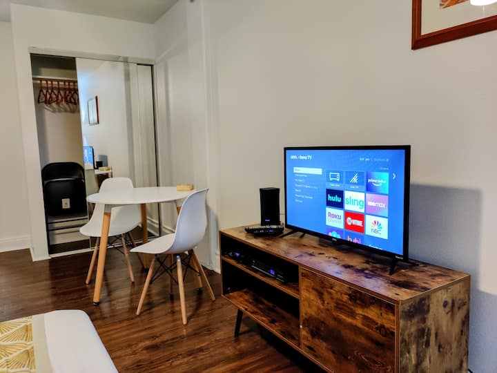 Furnished 30 day plus Studio Work Remotely