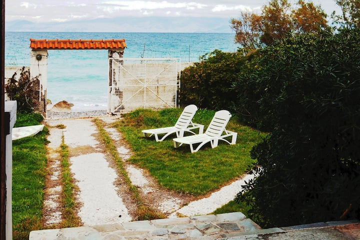 DreamVilla, infront of the sea,with private beach