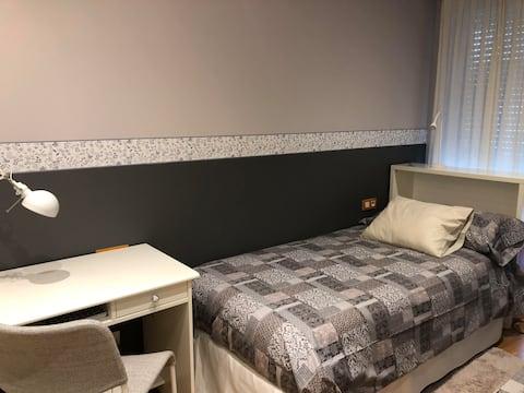 habitación individual en Manresa