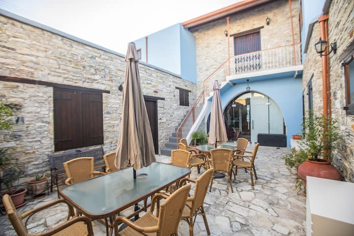 Iosiphis Stonebuilt House-One-Bedroom with Balcony