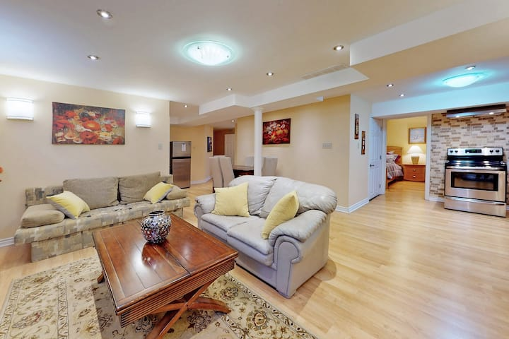 Comfortable and Spacious 1 Bedroom Basement Apt!