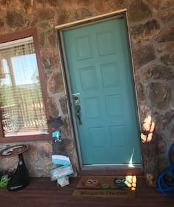 """This door is 36"""", however door into the suite is 30"""". Door into private bath is 32"""""""