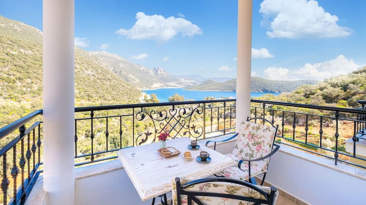 Room with Best Kaş View and Breakfast!