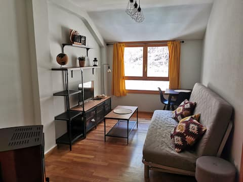 Cozy apartment in Canfranc Station