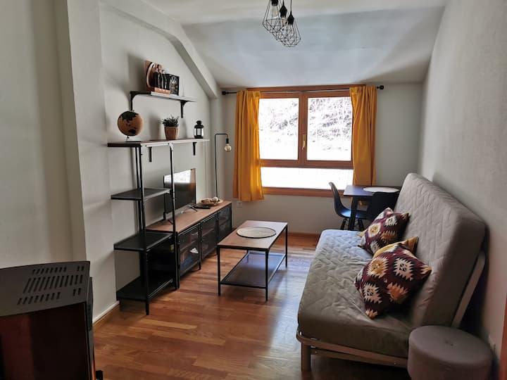 Acogedor apartamento en Canfranc Estación
