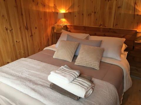 浪漫小木屋,景观绝佳,迈波峡谷