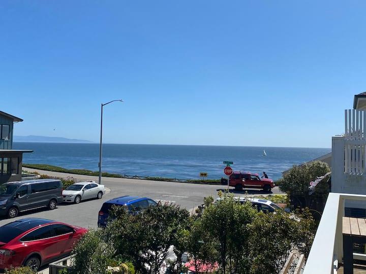 Natural Bridges Beach House with Ocean Views