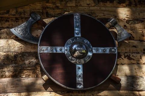 El descanso de Odín. A real viking inn!