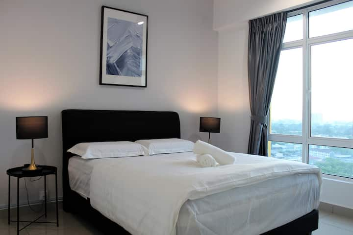★Super Promo★Ipoh Town★JOMSTAY-Majestic Suite 3
