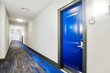 Extrawide hallways  & doors for guest convenience
