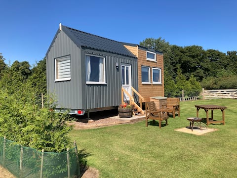 The Cedar Tiny House. A magical place to stay.