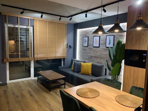 Loft Klonowa - Apartament z garażem