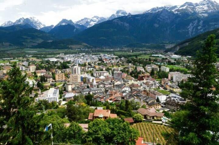 Monthey - Valais (Portes du Soleil) / App familial