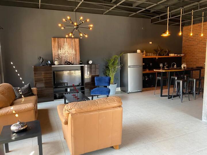 Brand New Gorgeous Industrial Loft in Downtown Ens