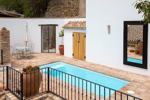 Idyllic Spanish village home, stunning views, pool